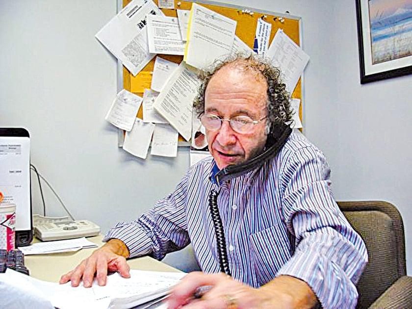 加拿大專家科洛維爾德,將其在中共會議上的講稿放在網上,讓外界認清新華社的捏造。(本人提供)