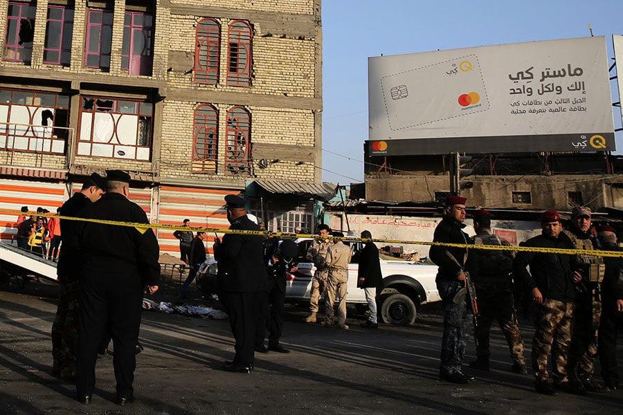 巴格達雙自殺炸彈襲擊 至少26死90傷