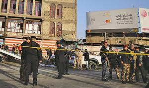 巴格達雙自殺炸彈攻擊 38死105傷