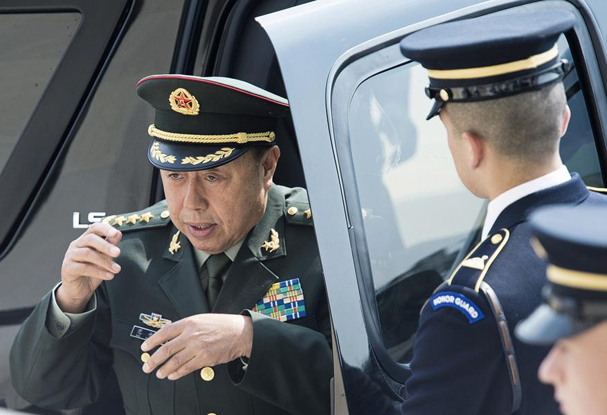 前軍委副主席范長龍傳被查