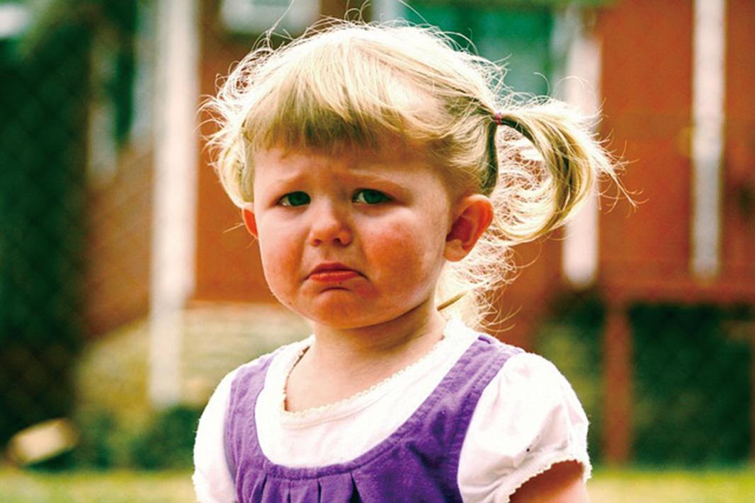 喜歡發脾氣的情況在寶寶兩歲的時候達到頂峰。(Pixabay)