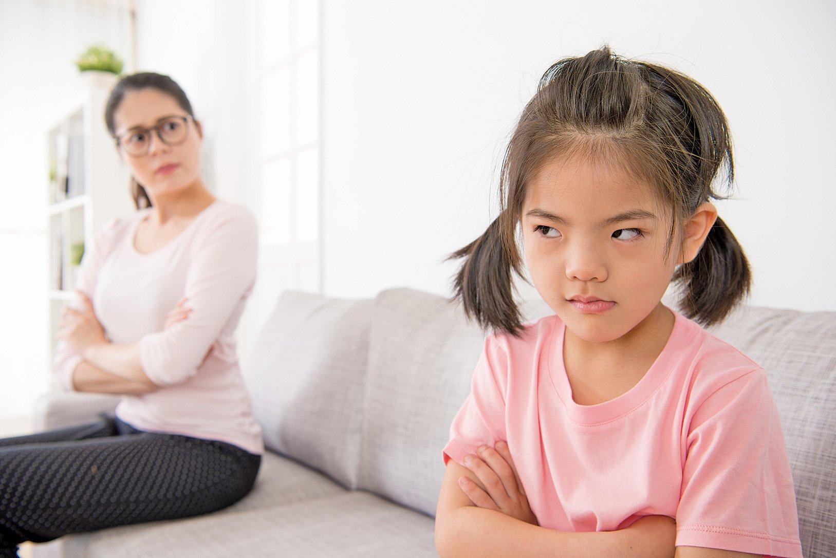 90%的家長遇到過孩子發脾氣,這是兒童成長發育中的正常現象。(Fotolia)