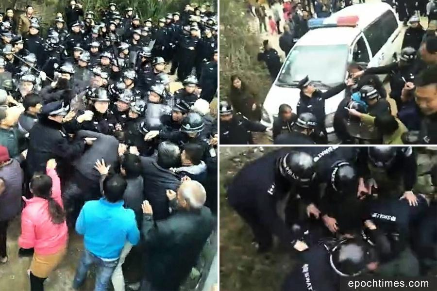 廣西村民阻建垃圾焚燒廠 爆警民衝突