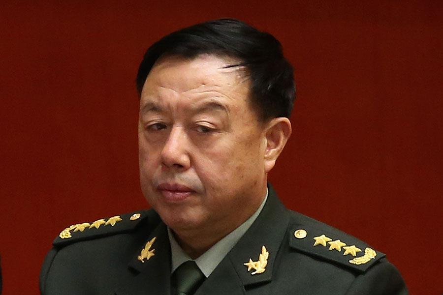 繼房峰輝落馬後,中共軍委前副主席范長龍也傳出被調查的消息。(Feng Li/Getty Images)