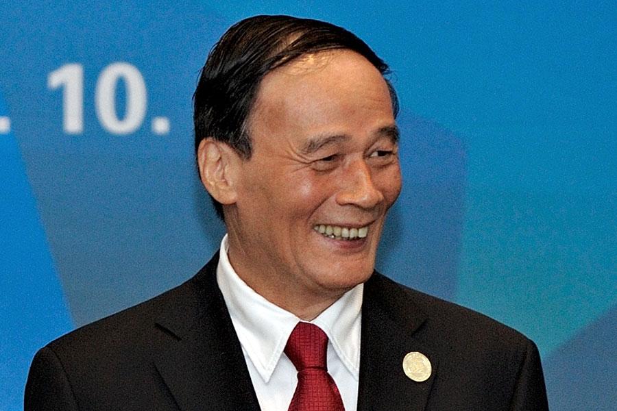 王岐山或出任國家副主席。(PHILIPPE LOPEZ/AFP/Getty Images)