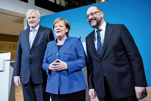德國組聯合政府談判有突破