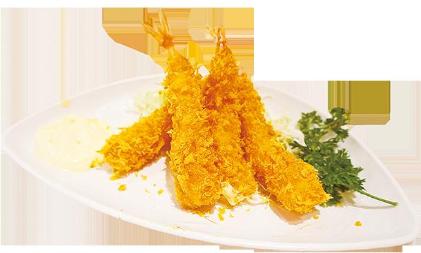 炸蝦炸得好金黃冇多餘嘅油