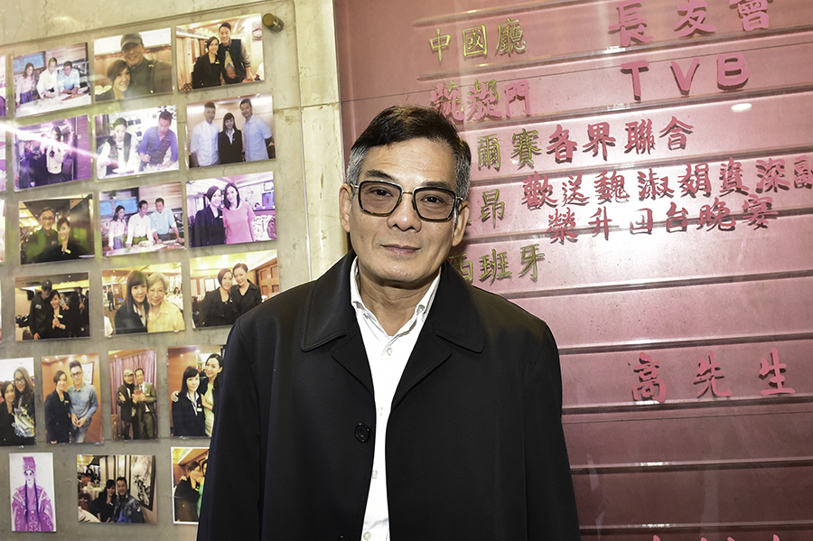 李國麟在劇中飾演夏雨的恩公許大少。(郭威利/大紀元)