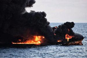 桑吉油輪沉沒威脅生態 27年來最大漏油事件