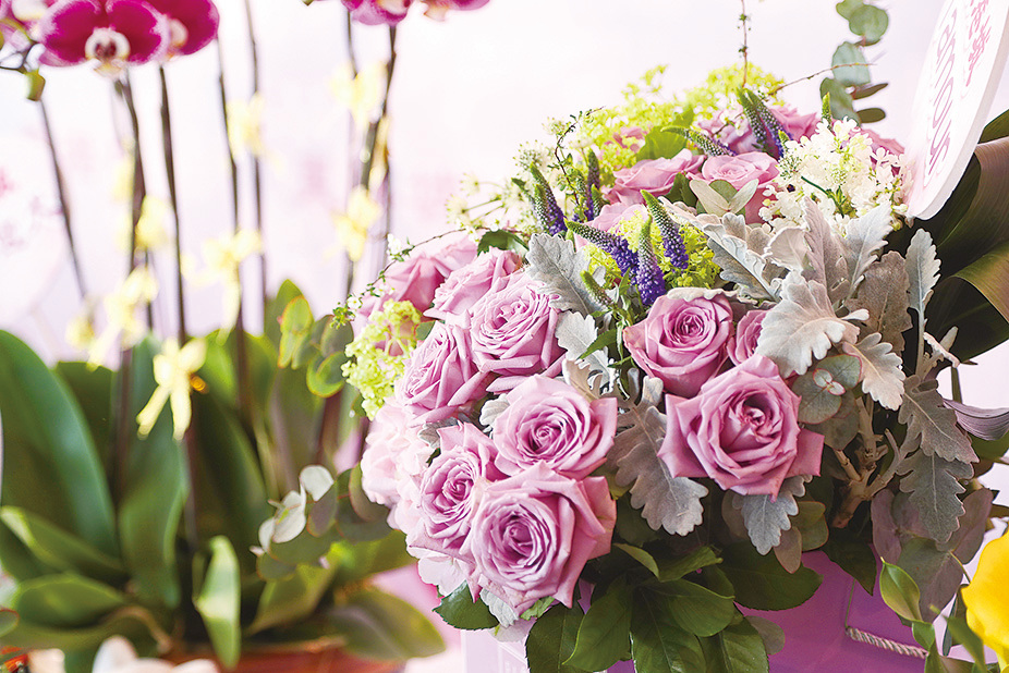 玫瑰花。(余鋼/大紀元)
