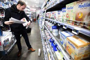 問題奶粉未及時下架 法國多家超市道歉