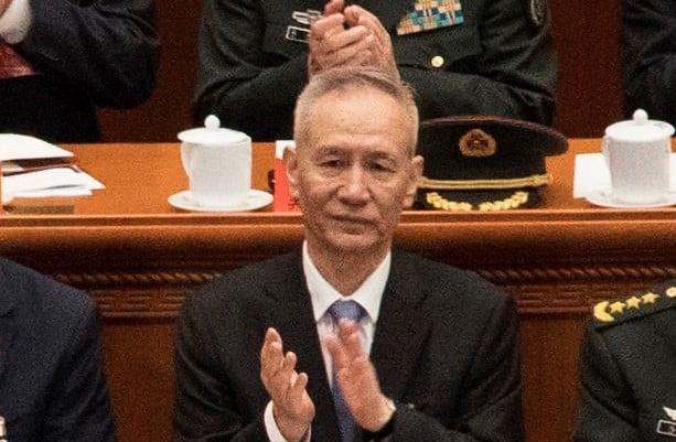 2月26日中共外交部發言人公佈,劉鶴將於27日至3月3日訪問美國。(Kevin Frayer/Getty Images)