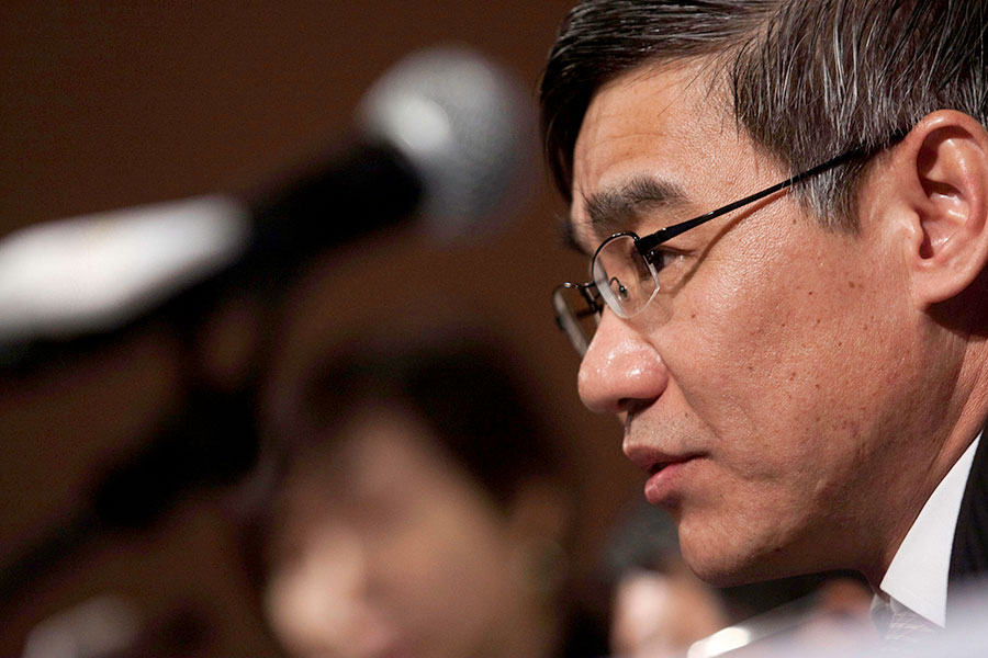 1月17日,中共江西省副省長李貽煌被審查。(大紀元資料室)