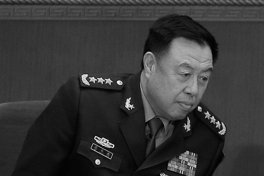 1月25日,中共國防部首度否認范長龍被查的消息。但該消息遭到大陸網站的封殺。(Lintao Zhang/Getty Images)