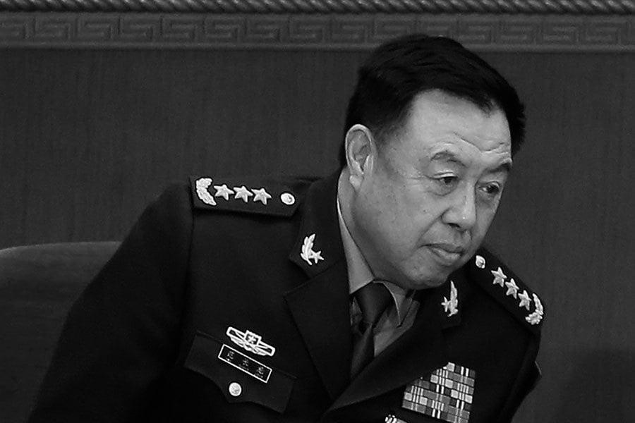 詭異 中共國防部回應范長龍被查消息遭封殺