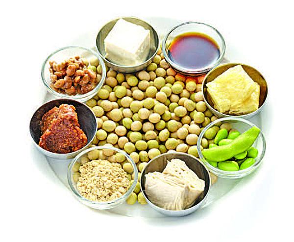 黃豆和豆製品具有維持女性體內雌激素平衡的作用。(Fotolia)