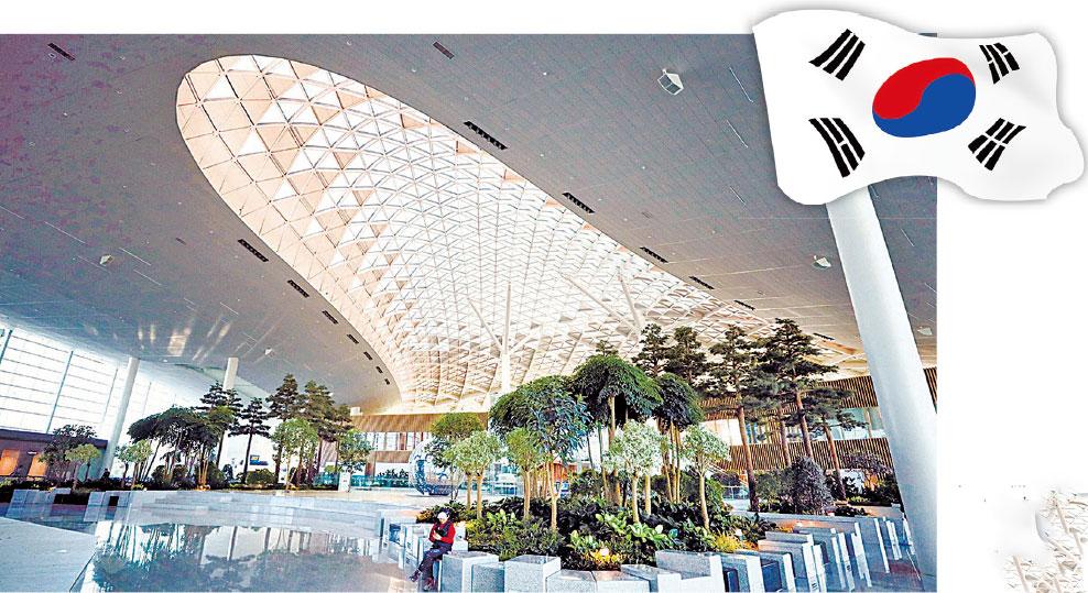 韓仁川機場第二航站樓啟用