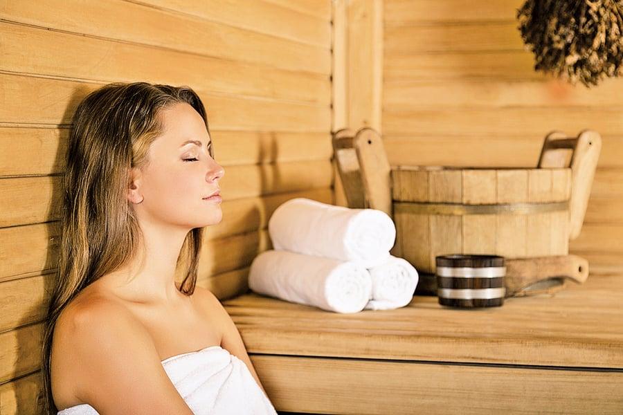 桑拿浴益處多 降血壓的好方法