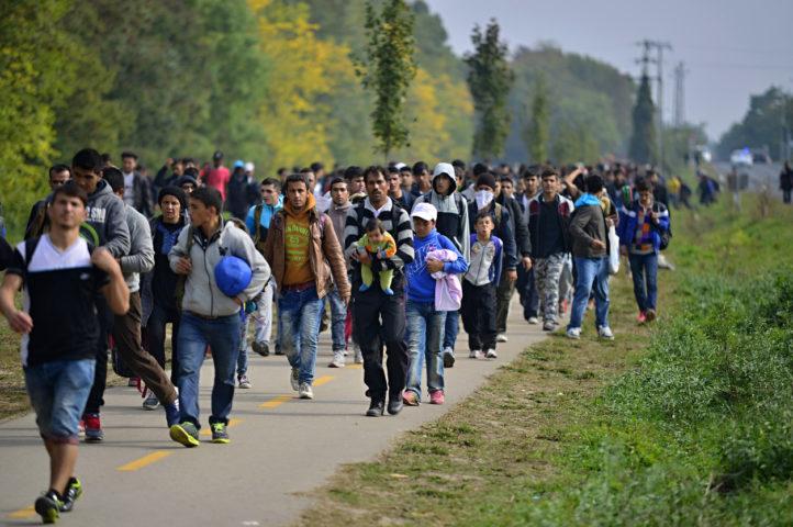 2017年德國新增難民減少至18.7萬
