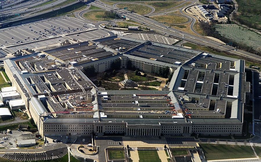 美國國防部將於1月19日發佈《國防戰略報告》。(AFP PHOTO)