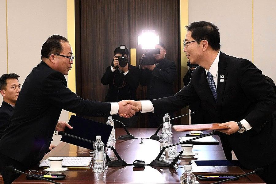 兩韓擬在北韓豪華滑雪場聯合訓練 引發爭議