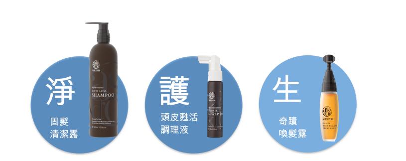 淨-護-生三步驟,輕鬆打造健康頭皮
