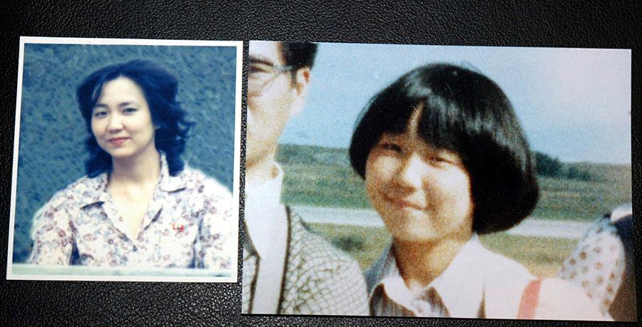 被北韓綁架的13歲學生橫田惠。(Koichi Kamoshida/Getty Images)