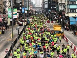 六萬二千人跑出渣馬熱