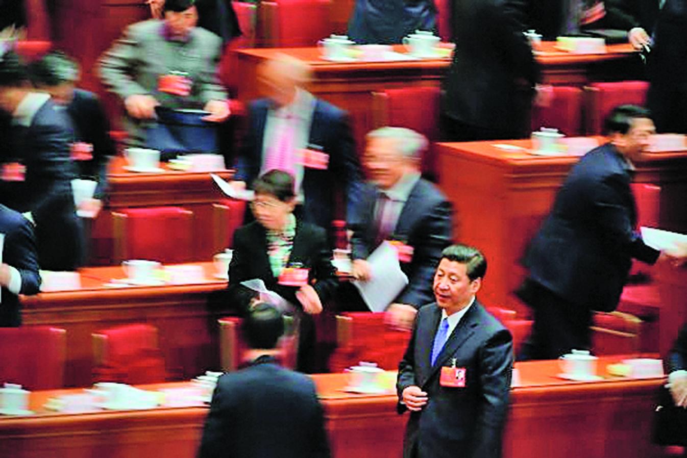 中共十九屆二中全會上確定習思想與國監委入憲,引外界關注。(Getty Images)