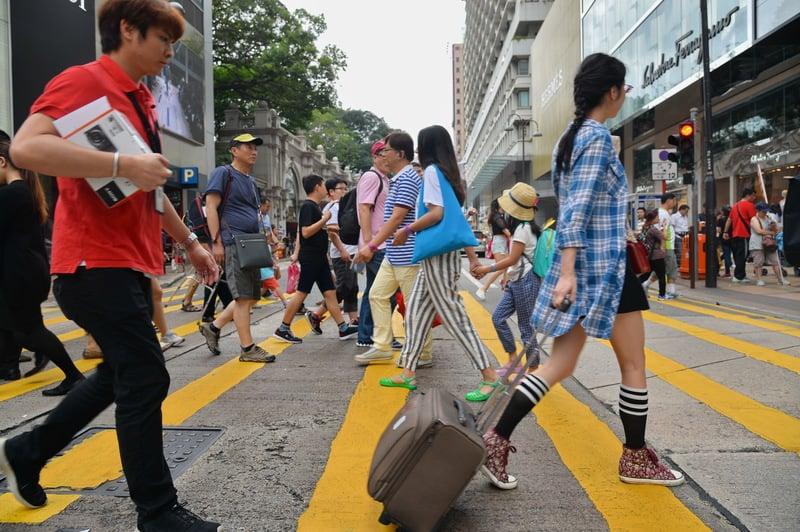 五一假期首兩日 陸訪港客按年升逾一成