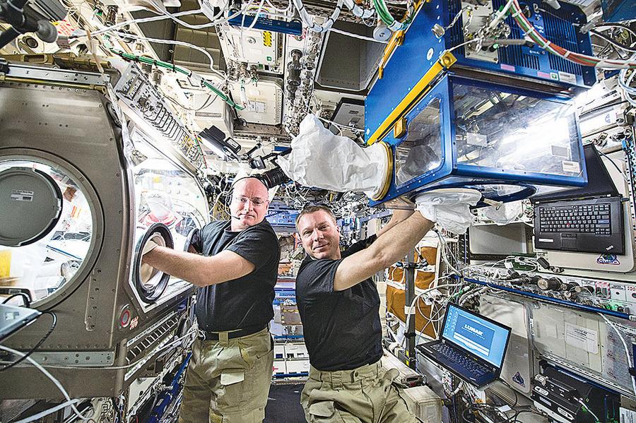 太空失重狀態中 太空人會發燒