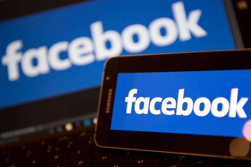 社群網站龍頭Facebook將要求20億用戶替新聞媒體的可信賴度做排序。(AFP PHOTO/Justin TALLIS)