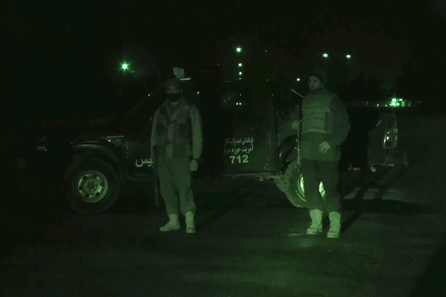 星期六(1月20日),至少四名武裝份子襲擊阿富汗首都喀布爾的一家洲際酒店,並劫持人質。(ZNASRULLAH ATTAR/AFP/Getty Images)