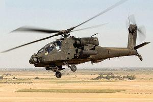 美阿帕奇軍機在加州墜毀 兩士兵死亡