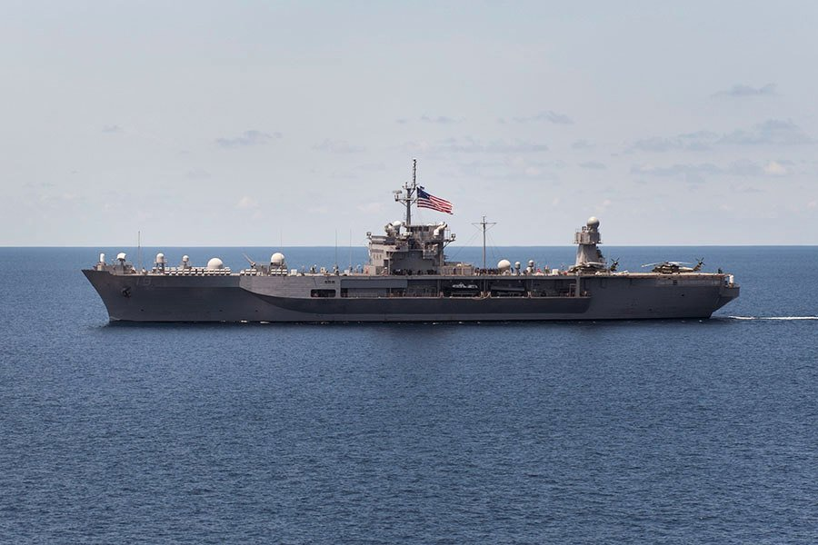 完成多項更新 美第七艦隊旗艦重返海洋