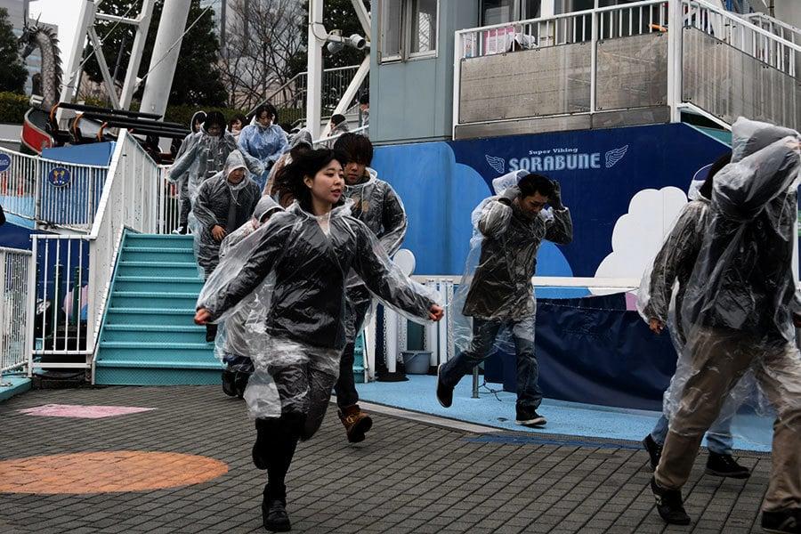 因應北韓導彈 東京舉行二戰後首次疏散演習