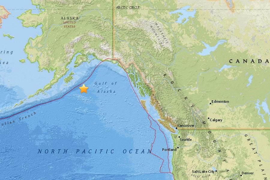 阿拉斯加灣7.9級地震 當局發出海嘯警報