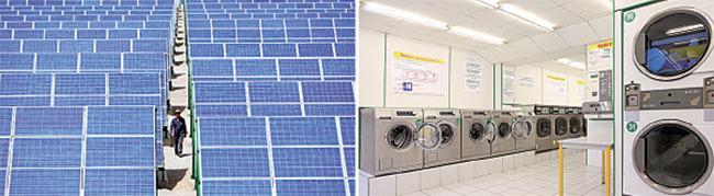 美國決定對所有進口太陽能板及洗衣機徵收關稅,並表明部份措施是針對中國。(Feng Li/Getty Images、fotolia)