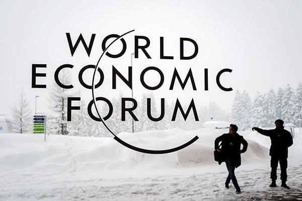 全球的大公司的首腦們將試圖在達沃斯探測全球地緣政治上的「氣候變遷」。(AFP)