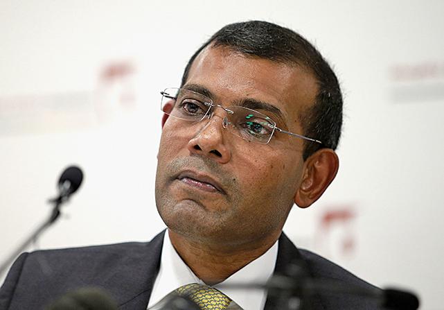 馬爾代夫前總統:中共名曰投資 實則搶地