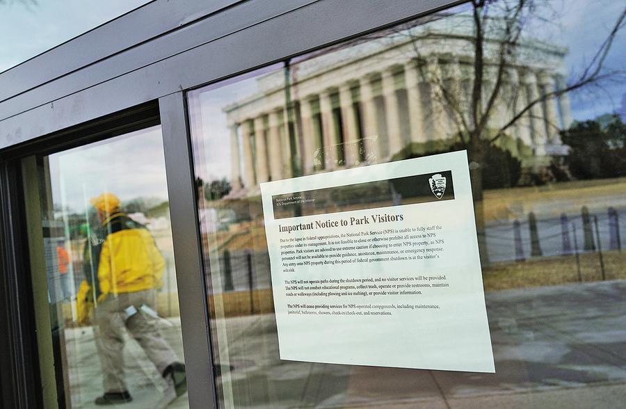 聯邦政府停擺結束可運作三周
