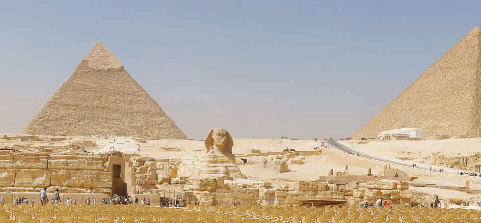 埃及胡夫金字塔。(維基百科)