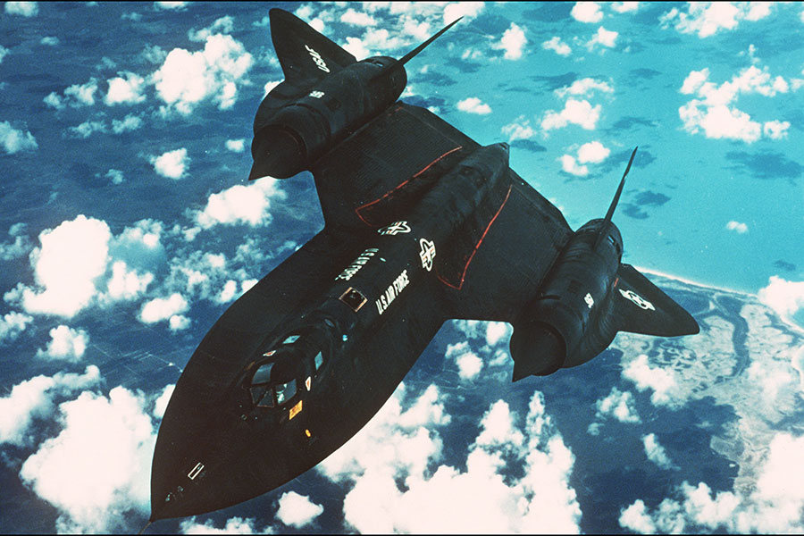 1981年8月26日,北韓發射一枚導彈,攻擊正在朝鮮半島上空執行任務的美軍SR-71黑鳥式偵察機,但沒擊中。此圖攝於1987年。(DEPARTMENT OF DEFENSE/AFP)