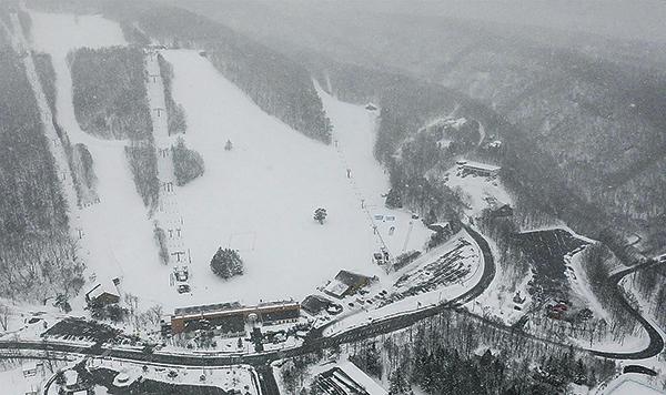 日本草津白根山23日發生火山爆發,並引發雪崩。(Getty Images)