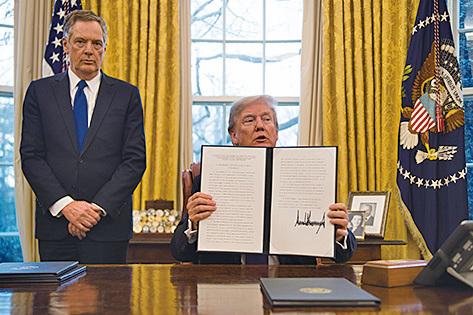 課高關稅 特朗普:不會有貿易戰
