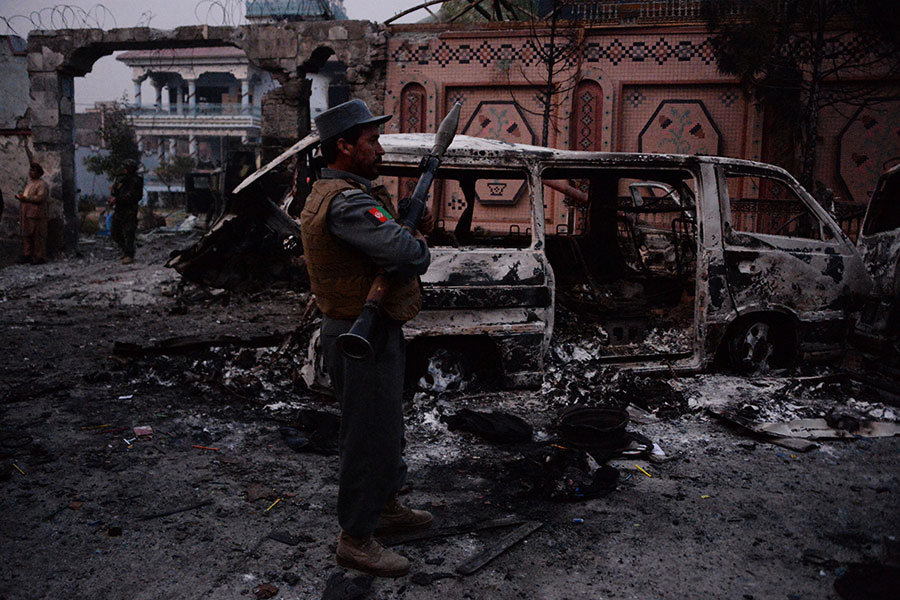 IS在阿富汗發動自殺炸彈襲擊 至少2死20傷