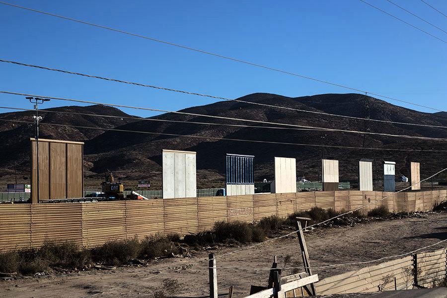 舒默撤回承諾 特朗普:邊境牆保障人民安全