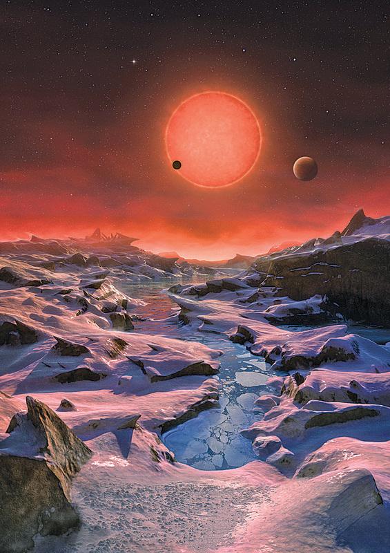 重大發現 40光年外三行星或存生命及水