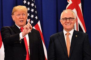 澳洲總理下月率團訪美 或再次與特朗普會晤