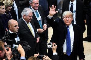 特朗普周五達沃斯演說 白宮透露三大重點